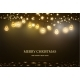 Christmas Garland with Light Lamp and Stars - GraphicRiver Item for Sale