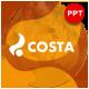 Costa Autumn Season Presentation Template - GraphicRiver Item for Sale