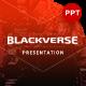 Blackverse Presentation Template - GraphicRiver Item for Sale