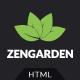 Zen Garden - Garden and Landscape HTML Template - ThemeForest Item for Sale