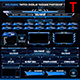 Wolf Twitch Overlay Live Stream Photoshop Template - GraphicRiver Item for Sale