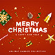 Merry Christmas and Happy New Year banner - GraphicRiver Item for Sale
