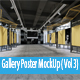 Gallery Poster MockUp ( Vol 3) - GraphicRiver Item for Sale