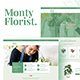 Monty Florist - Flower Boutique & Decoration Elementor Template Kit - ThemeForest Item for Sale