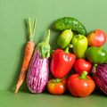 Still life composed of a rich crop of fresh vegetables. - PhotoDune Item for Sale