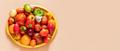 Organic vegetables harvest. Fresh ripe organic vegetables on a tray - PhotoDune Item for Sale