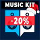 Action EDM Dance Groove Music Kit
