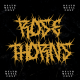 ROSE THORNS - Death Metal Band Font - GraphicRiver Item for Sale