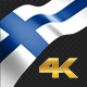 Long Flag Finland - VideoHive Item for Sale