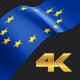 Long Flag European Union - VideoHive Item for Sale