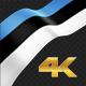 Long Flag Estonia - VideoHive Item for Sale