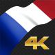 Long Flag France - VideoHive Item for Sale