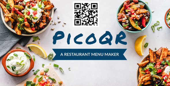 Download PicoQR – A Simple Restaurant Menu Maker Nulled