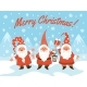 Gnomes Christmas Characters - GraphicRiver Item for Sale