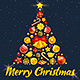 Template For Merry Christmas Poster / Flyer - GraphicRiver Item for Sale