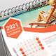 Desk & Landscape Calendar 2021 - GraphicRiver Item for Sale
