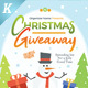 Christmas Giveaway Flyer Templates - GraphicRiver Item for Sale