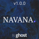 Navana - Personal and Professional Membership Ghost Blog Theme - ThemeForest Item for Sale