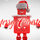 Merry Christmas Titles With Robot Roby - VideoHive Item for Sale