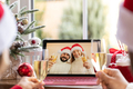 Online Christmas family party during pandemic coronavirus COVID 19 - PhotoDune Item for Sale