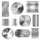 Metal Plates on Steel Screw Rivets, Floor Tiles - GraphicRiver Item for Sale