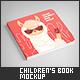 Square Children's Book Mock-Up - GraphicRiver Item for Sale