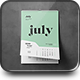 Wall Calendar Mock-up - GraphicRiver Item for Sale