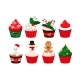 Christmas Cupcakes Set - GraphicRiver Item for Sale