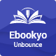Ebookyo - Ebook Unbounce Landing Page Template - ThemeForest Item for Sale