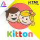 Kitton - Kids Kindergarten And Pre-School HTML Template - ThemeForest Item for Sale
