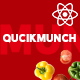 Quickmunch | Restaurant Listing React Template - ThemeForest Item for Sale