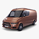 Generic Commercial Cargo Van v 1 - 3DOcean Item for Sale