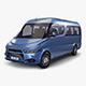 Generic Passenger Van v 1 - 3DOcean Item for Sale