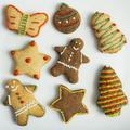 Cute gingerbread festive cookies - PhotoDune Item for Sale
