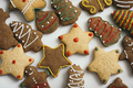 Christmas cookies on white background - PhotoDune Item for Sale