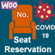 Covid-19 - Seat Reservation Management for WordPress and WooCommerce - CodeCanyon Item for Sale