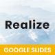 Realize Minimalism - Google Slides - GraphicRiver Item for Sale
