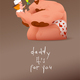 Girl and Man with Happy Mood. Father's Day - GraphicRiver Item for Sale
