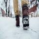 Crunch of Snow Under Footstep