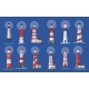 Lighthouse Beacon Searchlight Ship Navigation - GraphicRiver Item for Sale