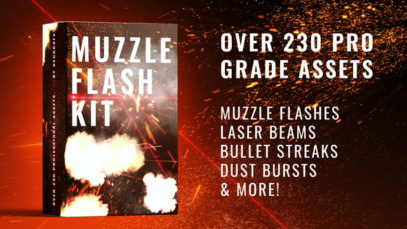 Real Muzzle Flash Kit