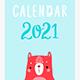Calendar 2021 - GraphicRiver Item for Sale