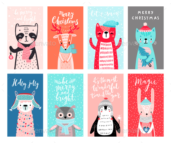 Cards With Woodland Animals