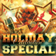 Christmas New Year Holiday Special Flyer - GraphicRiver Item for Sale