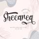 Shecarea - Beautiful 2 Style Script - GraphicRiver Item for Sale