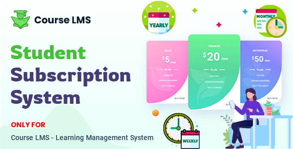 Download Course LMS Student Subscription addon Nulled