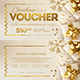 Christmas Gift Voucher Template - GraphicRiver Item for Sale