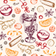 Seamless Pattern with Mulled Wine and Spices - GraphicRiver Item for Sale