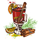 Vintage Vector Hand Drawn Mulled Wine - GraphicRiver Item for Sale