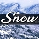 Snowfall in Winter Mountains - VideoHive Item for Sale